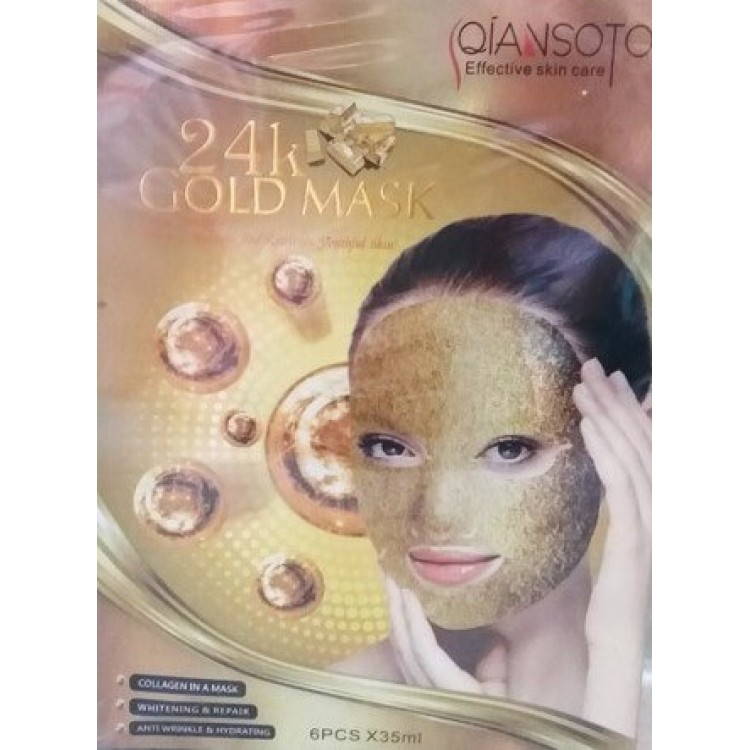 24 gold mask Qiansoto  | Био Маркет