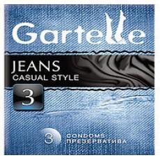 Презервативы Gartelle jeans casual style    Био Маркет