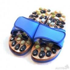 Массажные тапочки с натуральными камнями (нефрит, яшма)  | Био Маркет