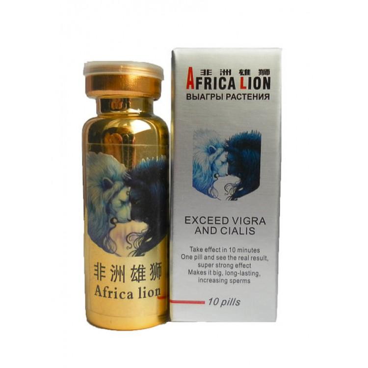 Africa lion- препарат для потенции африканский лев | Интернет-магазин bio-optomarket.ru