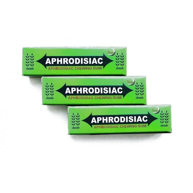 Aphrodosiac- возбуждающая жевательная резинка    Био Маркет