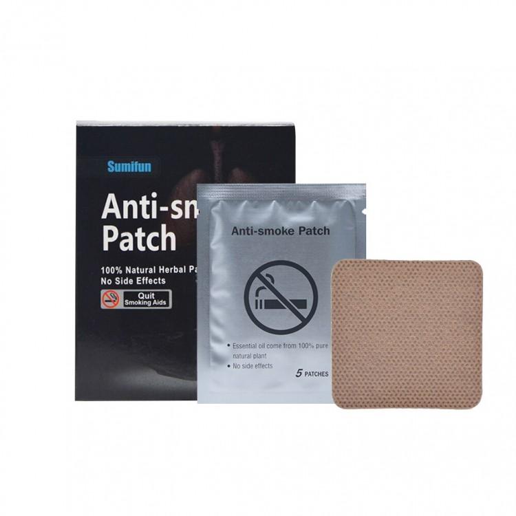 Anti smoke patch- пластыри от курения (35 шт.)  | Био Маркет