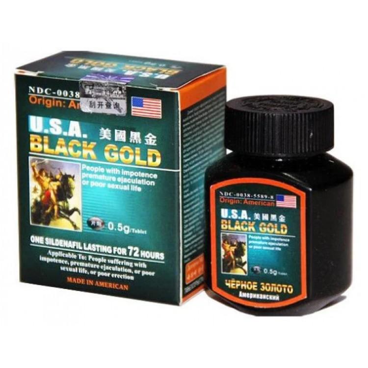 USA Black Gold (16 таблеток) препарат для потенции  | Био Маркет