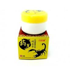 Китайский бальзам обезболивающий для суставов из яда скорпиона (20 г.)  | Био Маркет