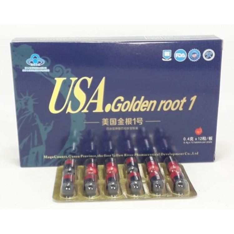 Препарат для повышения потенции USA golden root | Интернет-магазин bio-optomarket.ru