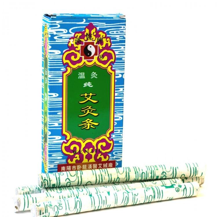 Полынные сигары WENJU (мокса) (упаковка 10 шт.)   Интернет-магазин bio-optomarket.ru