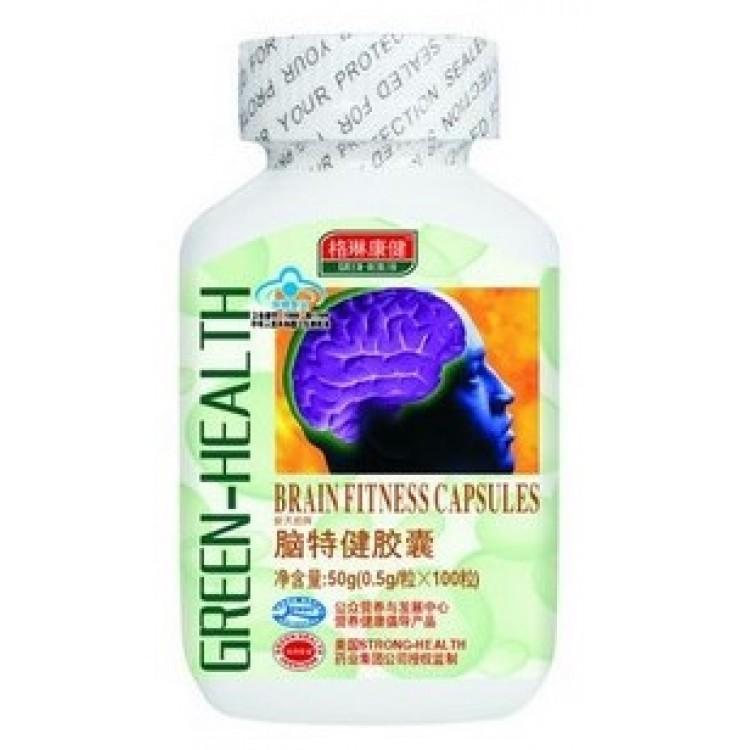 Капсулы для активизации работы головного мозга Green-health   | Био Маркет