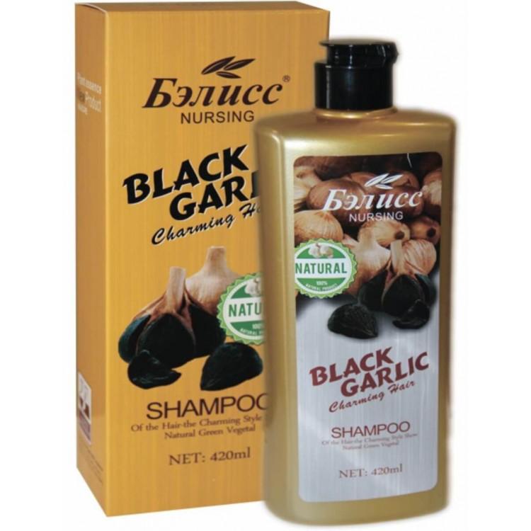 Шампунь Бэлисс черный чеснок  | Био Маркет